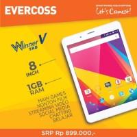 Tablet evercoss winner v At8b Ram 1/8 garansi reami