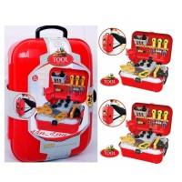 Mainan Anak Tool Set Back Pack Alat Tukang Pertukangan Perkakas Set