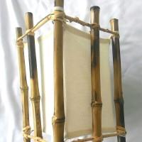 Kerajinan Lampu Hias Gantung Dari Bambu Cendani Untuk Dekorasi Ruang