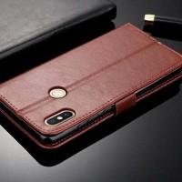 PROMO!!! Flip cover wallet case Xiaomi Redmi Note 6 Pro casing leather