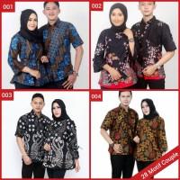 Batik Couple Atasan / Blouse Wanita / Dress Murah / Seragam Kantor