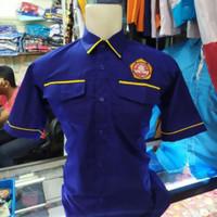 Baju kemeja Karang taruna new