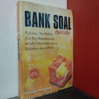 Buku BANK SOAL Terkini Psikotes Tes Bakat CPNS