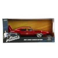 Dom Dodge Charger Daytona (Fast & Furious) 1:24 Diecast, Jada Toys