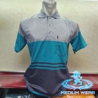 Kaos Kerah XL Salur / Poloshirt / Kerah Wangki Salur