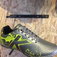 Sepatu futsal kelme original Star Evo Silver lime new 2017