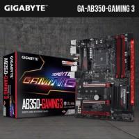 Gigabyte GA AB350 Gaming 3 AM4 B350 DDR4SSxc68581