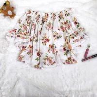 Preloved BERSHKA Sabrina Floral / baju bershka murah / baju murah /