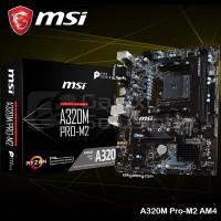 MSI A320M PRO M2 AM4 A320 DDR4 Mini ATX Motherboard AMDSSxc68645