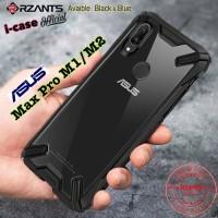 Asus Zenfone Max Pro M2 RZANTS Clear Armor Case Hard Soft Case Casing