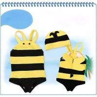 baju bayi baju renang swimwear anak perempuan motif lebah lucu
