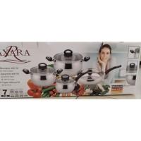 Alat masak panci set stainless steel - merek AXARA