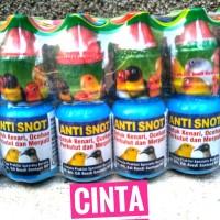 OBAT ANTI PILEK BURUNG Anti Snot by Dr. edhi Boedhi