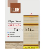 LEMARI PLASTIK CLUB GANTUNG / GANTUNGAN SUSUN 4