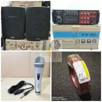 Paket karaoke bluetooth sound system paketan audio sistem
