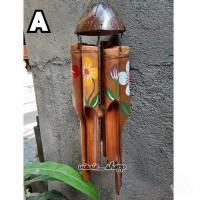 Lonceng Bambu Wind Chime Bali