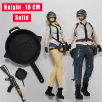 Action Figure PUBG PlayerUnknown's Battlegrounds PVC 18 cm Mainan Anak