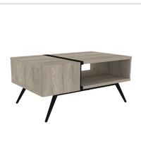 INTERIO - Meja Tamu Office Table Grey Oak 5524