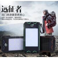 Sinofer Solar Panel Power Bank 2 USB Port 10000mAh + Kompas - SP-21