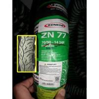Ban Matic 70/90-14 Zeneos Tubeless ZN77 TL Original Gajah Tunggal