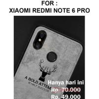 HOT SALE Case Xiaomi Redmi Note 6 Pro softcase casing hp cover leather