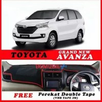 Aksesoris Karpet Dashboard Mobil All New Avanza/Veloz Xenia 2012-2018