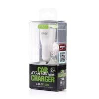 CAR CHARGER ROBOT RT-C05S 2.4A DUAL USB PORT