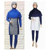 baju renang Wanita dewasa muslimah syar'i jumpsuit premium