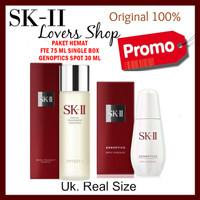 SK-II/SK2/SKII/SK II GENOPTICS SPOT + FACIAL TREATMENT ESSENCE / FLEK