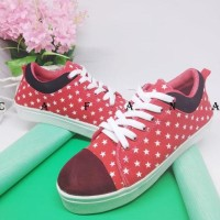 DISKON!!! Sepatu Kets Wanita Casual Merah SDS122 - 37 DISKON!!!