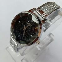 PROMO!!! jam tangan wanita Diora gelang permata baris rantai stainless