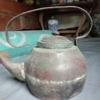 Barang Antik Teko Ceret Perunggu kuno Coeg