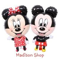 Balon Foil Mickey Tikus Murah Dekorasi Natal Balon Pesta Imlek Tikus