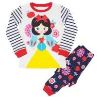 Baju tidur anak/piyama/baju anak/Snow White 4-10T