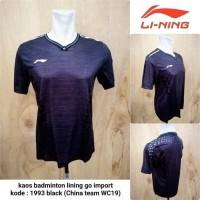 kaos baju badminton lining grade ori import 1993 wc19