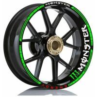 Stiker Velg Motor Wheels Stiker Monster Energy All Motor Sport Ring 17