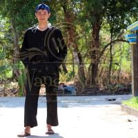 Setelan Pangsi Baju Adat Sunda Hitam Polos - Baju Pangsi Hitam Sunda