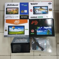 Tv Audio Mobil Double Din Varity Audiobank JEC F8 mobil all new avanza