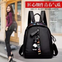 Tas Ransel Korea Love Backpack Wanita Fashion Style Kpop Loves Bags On
