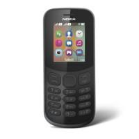 NOKIA 130 2017 DUAL SIM - BLACK - VGA CAMERA - GARANSI RESMI