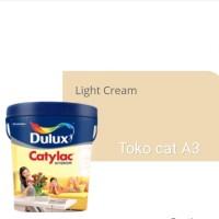 DULUX CATYLAC INTERIOR-LIGHT CREAM-25KG TINTING/CAT TEMBOK INTERIOR
