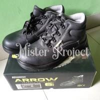 Sepatu Safety Krisbow Arrow 6 Hitam / Sepatu Proyek Krisbow