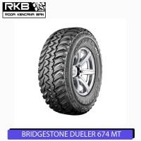Ban Mobil Bridgestone Dueler MT D674 Ukuran 265/75 R16 Ban Mobil Navar