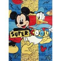 Karpet Karakter Disney Mickey Mouse Bahan Velvet 1.4 x 2 m - MICKEY