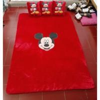 karpet karakter mickey mouse tebal 3,5cm uk 120x180cm bahan halus dan