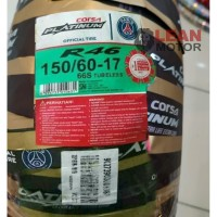 Roda Ban Luar Motor Corsa Platinum R46 150/60-17 Tubeless