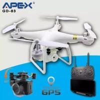 Apex Drone GD83 FPV WiFi HD Camera With GPS- Drone Apex Putih