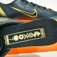 sepatu futsal nike mercurial CR7 new grade black gold SALE