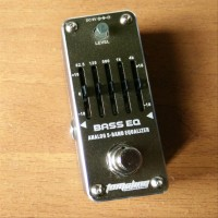 Tomsline Bass EQ Equalizer Pedal Efek Gitar Bass Mini Stompbox (NEW