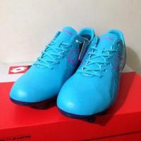TERBARU Sepatu Bola Lotto Original Blade FG Scuba Blue Sepatu Sepak